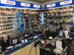 Bosch Werkzeugwand